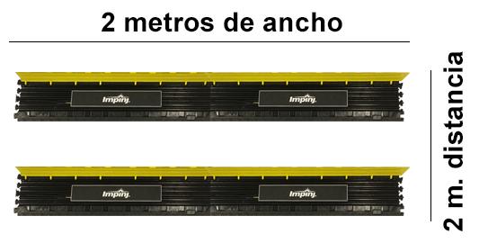 Antena posición de backup