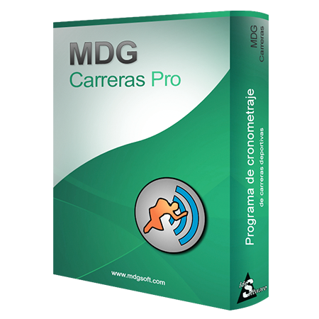 Software MDG-Carreras PRO