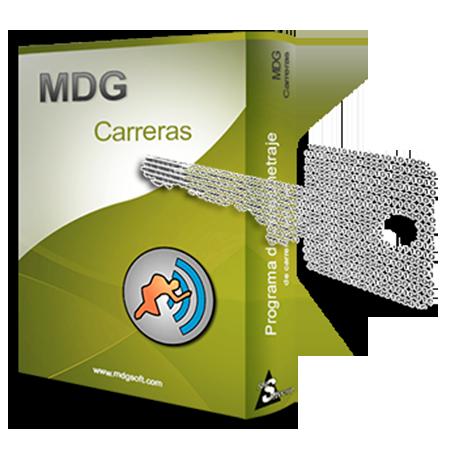 Software MDG-Carreras TS con licencia de uso