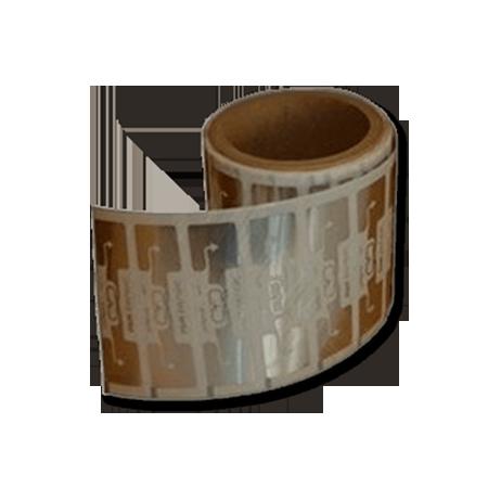 Bobina de 1000 chips transparentes